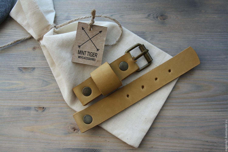 Кожаные ремешки на часы ручная работа