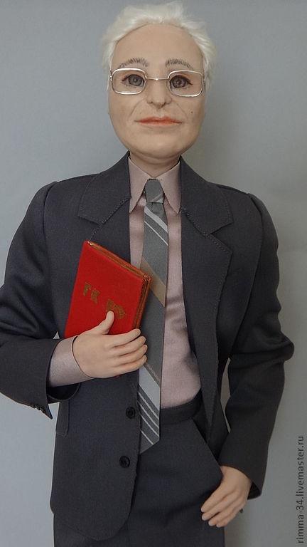 Портретные куклы ручной работы. Ярмарка Мастеров - ручная работа. Купить Портретная кукла. Handmade. Авторская кукла, livingdoll