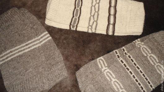 Носки, Чулки ручной работы. Ярмарка Мастеров - ручная работа. Купить Наколенники из овечьей шерсти. Handmade. Наколенники, шерсть