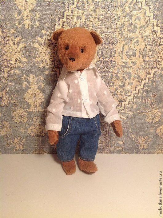Мишки Тедди ручной работы. Ярмарка Мастеров - ручная работа. Купить Мишка-кукла Илья. Handmade. Коричневый, игрушка для взрослых