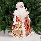 """Подарки к праздникам ручной работы. Ярмарка Мастеров - ручная работа 1. Дед мороз """"Великий Устюг"""" под елку, фарфор, 35см. Handmade."""