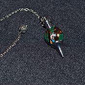 Фен-шуй и эзотерика handmade. Livemaster - original item The pendulum is made of malachite. Handmade.