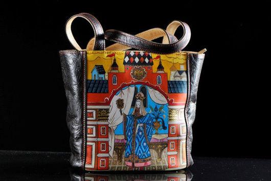 """Женские сумки ручной работы. Ярмарка Мастеров - ручная работа. Купить """"Свет мой, зеркальце, скажи......"""". Handmade."""