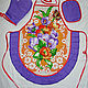 """Кухня ручной работы. Ярмарка Мастеров - ручная работа. Купить Комплект для кухни """"Цветочный"""". Handmade. Комбинированный, рисунок, кухонный текстиль"""