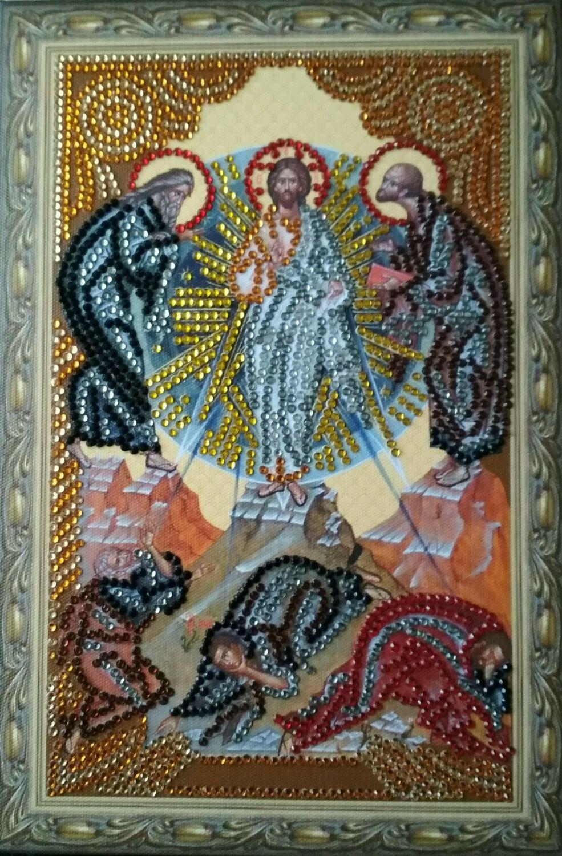 Иконы на подрамнике.Алмазная вышивка стразами, Иконы, Москва,  Фото №1