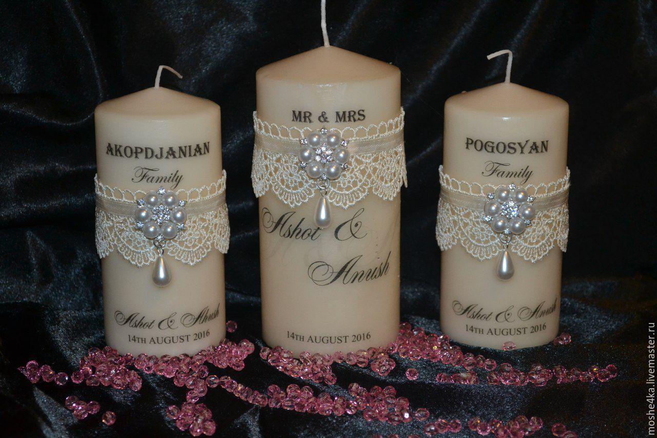 """Свадебные свечи """"Нежность"""", Свадебные свечи, Красногорск,  Фото №1"""