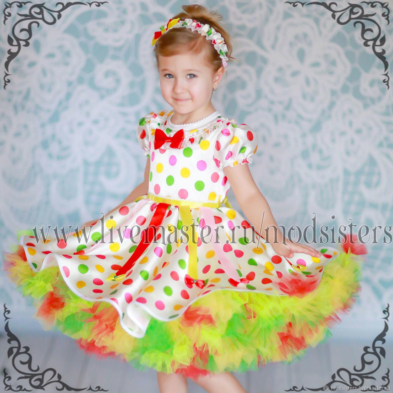 Baby dress 'Colorful season' Art.-510, Childrens Dress, Nizhny Novgorod,  Фото №1