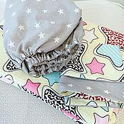 Комплект белья в кроватку ручной работы. Ярмарка Мастеров - ручная работа Постельное белье детское. Handmade.