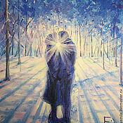 Картины и панно handmade. Livemaster - original item Oil painting on canvas. The dawn of love.. Handmade.