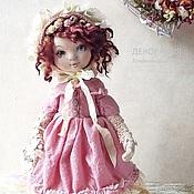 Куклы и игрушки ручной работы. Ярмарка Мастеров - ручная работа Николь.Текстильная коллекционная кукла. Бохо стиль. Handmade.