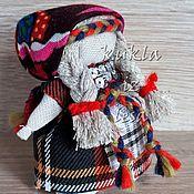 Русский стиль ручной работы. Ярмарка Мастеров - ручная работа Кукла народная, 7 см, сувенирная кукла, народная кукла купить. Handmade.
