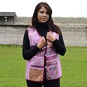 Одежда ручной работы. Ярмарка Мастеров - ручная работа Жилет валяный Арабески. Handmade.