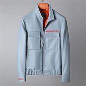 Мужская одежда handmade. Livemaster - original item Men`s jackets with zippers, made of genuine leather.. Handmade.
