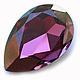 Для украшений ручной работы. Ярмарка Мастеров - ручная работа. Купить Капли 30х20 Iridescent purple Swarovski 4327. Handmade.