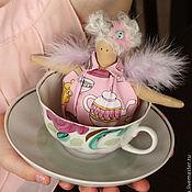 Куклы и игрушки ручной работы. Ярмарка Мастеров - ручная работа Чайная феечка. Handmade.