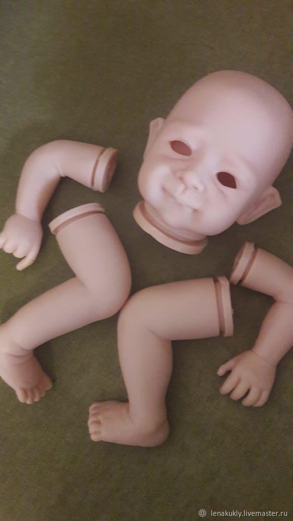 Молд Чобби от скульптора Lenka Polacek Hucinova, Куклы Reborn, Краснодар,  Фото №1
