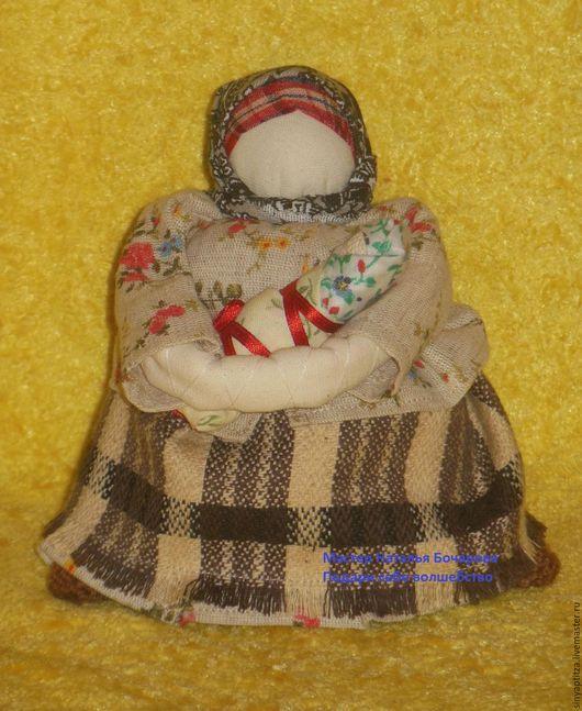 Народные куклы ручной работы. Ярмарка Мастеров- ручная работа. Купить обережную куклу Мамушка. Куколка на мешочке, традиционная кукла, обереги.