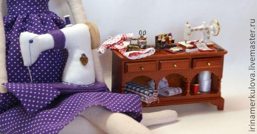 Куклы Тильды ручной работы. Ярмарка Мастеров - ручная работа. Купить Швейный ангел. Handmade. Феечка, ангел тильда, кухарочка