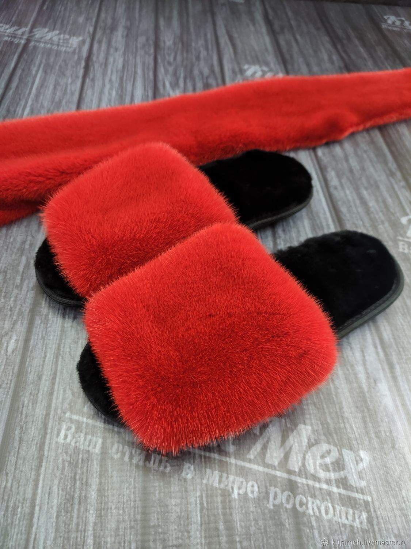 Mink Slippers, Slippers, Nalchik,  Фото №1