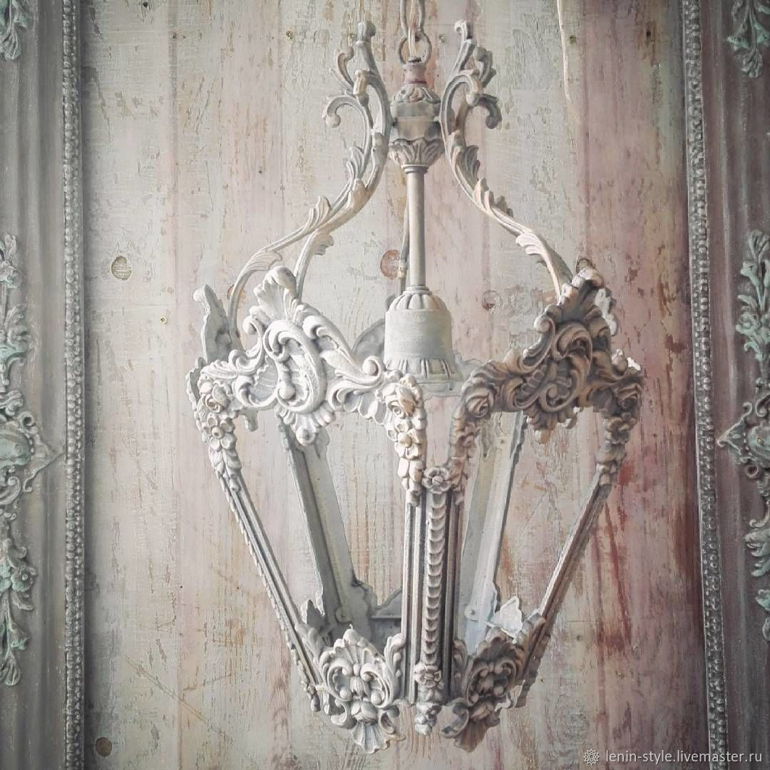 Shabby chic lighting ornate chandelier lighting painted gold w shabby chic lighting shabby chic lamps handmade livemaster buy your booking arubaitofo Gallery