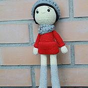 Мягкие игрушки ручной работы. Ярмарка Мастеров - ручная работа Кукла. Handmade.