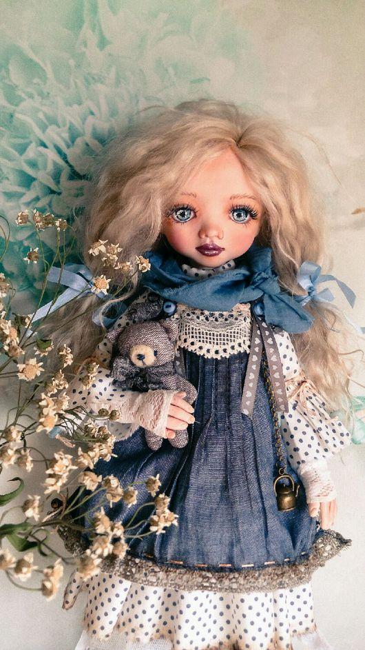 Коллекционные куклы ручной работы. Ярмарка Мастеров - ручная работа. Купить Белла. Handmade. Кукла, волосы