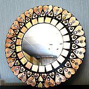 """Для дома и интерьера ручной работы. Ярмарка Мастеров - ручная работа Настенное зеркало """"Сердце"""" 30 см.. Handmade."""