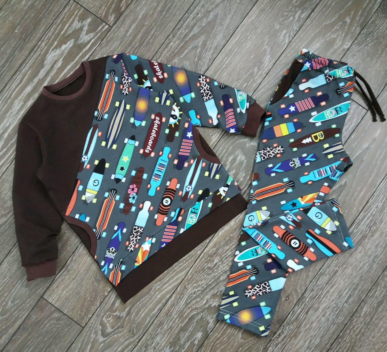 "Костюм для мальчика ""Скейтборт"", Collecti clothes, Borskoye,  Фото №1"