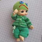 Куклы и игрушки ручной работы. Ярмарка Мастеров - ручная работа Костюмчик для малыша БЖД. Handmade.