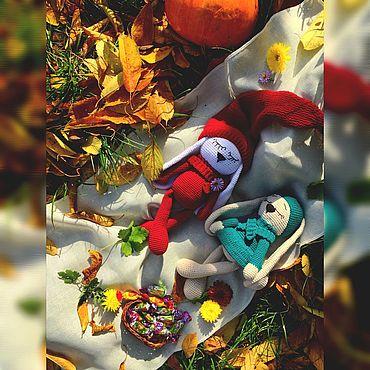 Dolls & toys handmade. Livemaster - original item Sleeping hare. Handmade.