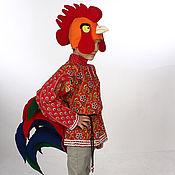 Работы для детей, ручной работы. Ярмарка Мастеров - ручная работа Петух (костюм театральный, карнавальный). Handmade.