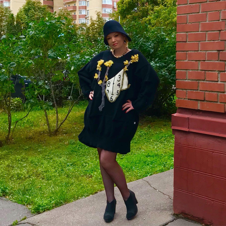 """Платье -палантин """"Постоянство памяти"""" посвящение Дали, Платья, Москва,  Фото №1"""