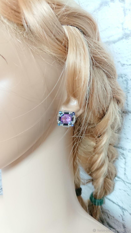 Earrings-ear-stud: Cuts, Stud earrings, Podolsk,  Фото №1