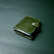 handmade. Livemaster - original item Wallet small leather business card holder. Hybrid. Handmade.