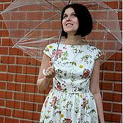 """Одежда ручной работы. Ярмарка Мастеров - ручная работа платье """" Белый шиповник"""". Handmade."""
