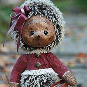 """Куклы и игрушки ручной работы. Ярмарка Мастеров - ручная работа Ёжик """"Николь"""". Handmade."""