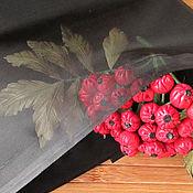Материалы для творчества handmade. Livemaster - original item organza black. japanese fabric for citadele. Handmade.
