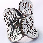 Украшения ручной работы. Ярмарка Мастеров - ручная работа Женское кольцо из серебра 925 пробы. Handmade.
