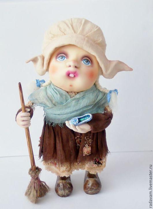 """Коллекционные куклы ручной работы. Ярмарка Мастеров - ручная работа. Купить Куколка """" Золушка""""каркасная. Handmade. Комбинированный, девочка"""