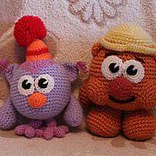 Куклы и игрушки ручной работы. Ярмарка Мастеров - ручная работа Смешарики Совунья и Копатыч. Handmade.