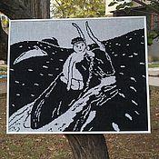 """Картины и панно ручной работы. Ярмарка Мастеров - ручная работа Гобелен """"Похищение Европы"""". Handmade."""