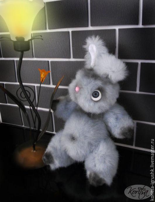 Игрушки животные, ручной работы. Ярмарка Мастеров - ручная работа. Купить Кролик тедди Снупи. Handmade. Серый, мягкая игрушка