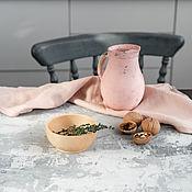 Для дома и интерьера handmade. Livemaster - original item Small wooden bowl made of Siberian cedar T38. Handmade.