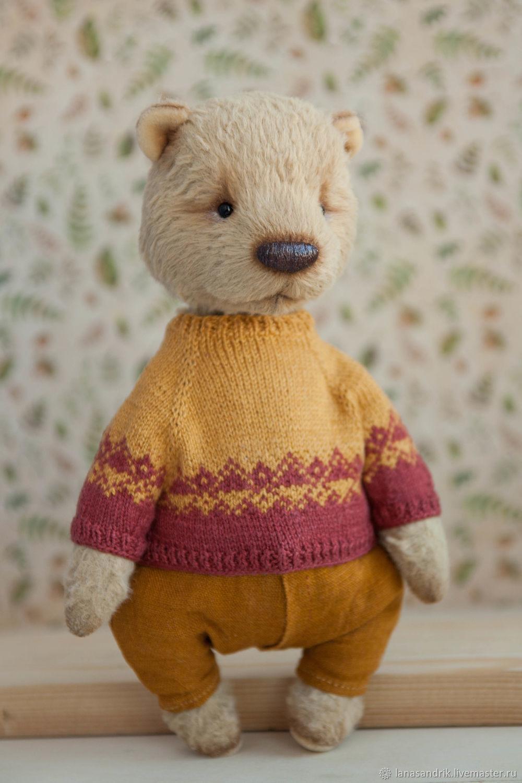 Teddy Bears handmade. Livemaster - handmade. Buy Artist teddy bear Orso.Teddy, clothes for dolls, viscose Germany