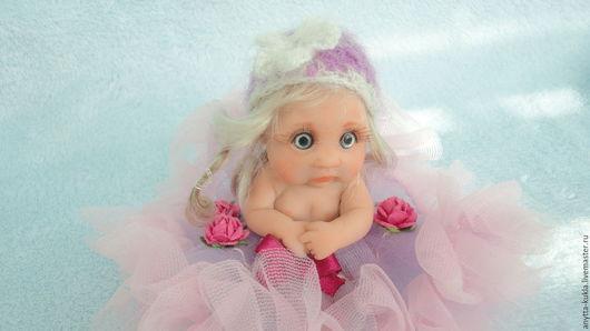 Миниатюра ручной работы. Ярмарка Мастеров - ручная работа. Купить ...Лала-лапочка............... Handmade. Бежевый, реалистичная кукла, коллекционная кукла
