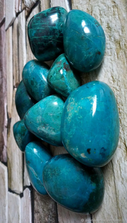 Chrysocolla,malachite (large tumbling )Republic of Peru ( South America), Minerals, St. Petersburg,  Фото №1