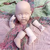 Куклы и игрушки ручной работы. Ярмарка Мастеров - ручная работа Кукольная заготовка № 33. Handmade.