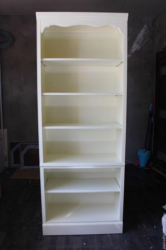 Мебель ручной работы. Ярмарка Мастеров - ручная работа. Купить Стеллаж для книг. Handmade. Белый, мебель прованс, американская мебель
