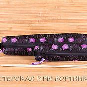 Материалы для творчества ручной работы. Ярмарка Мастеров - ручная работа Чехол, пенал, органайзер для спиц, комплект из 2 пеналов купить. Handmade.