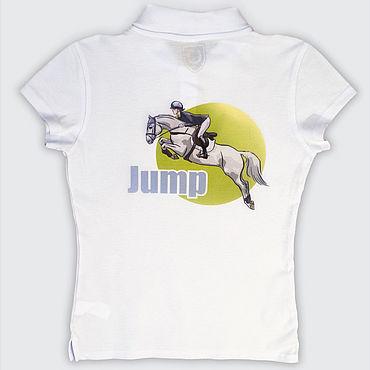 Одежда ручной работы. Ярмарка Мастеров - ручная работа Авторская футболка Jump. Handmade.